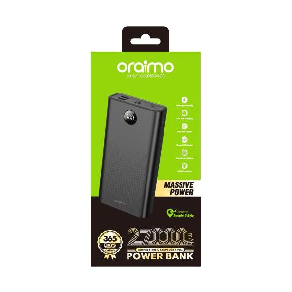 Oraimo power bank_27000mah_2